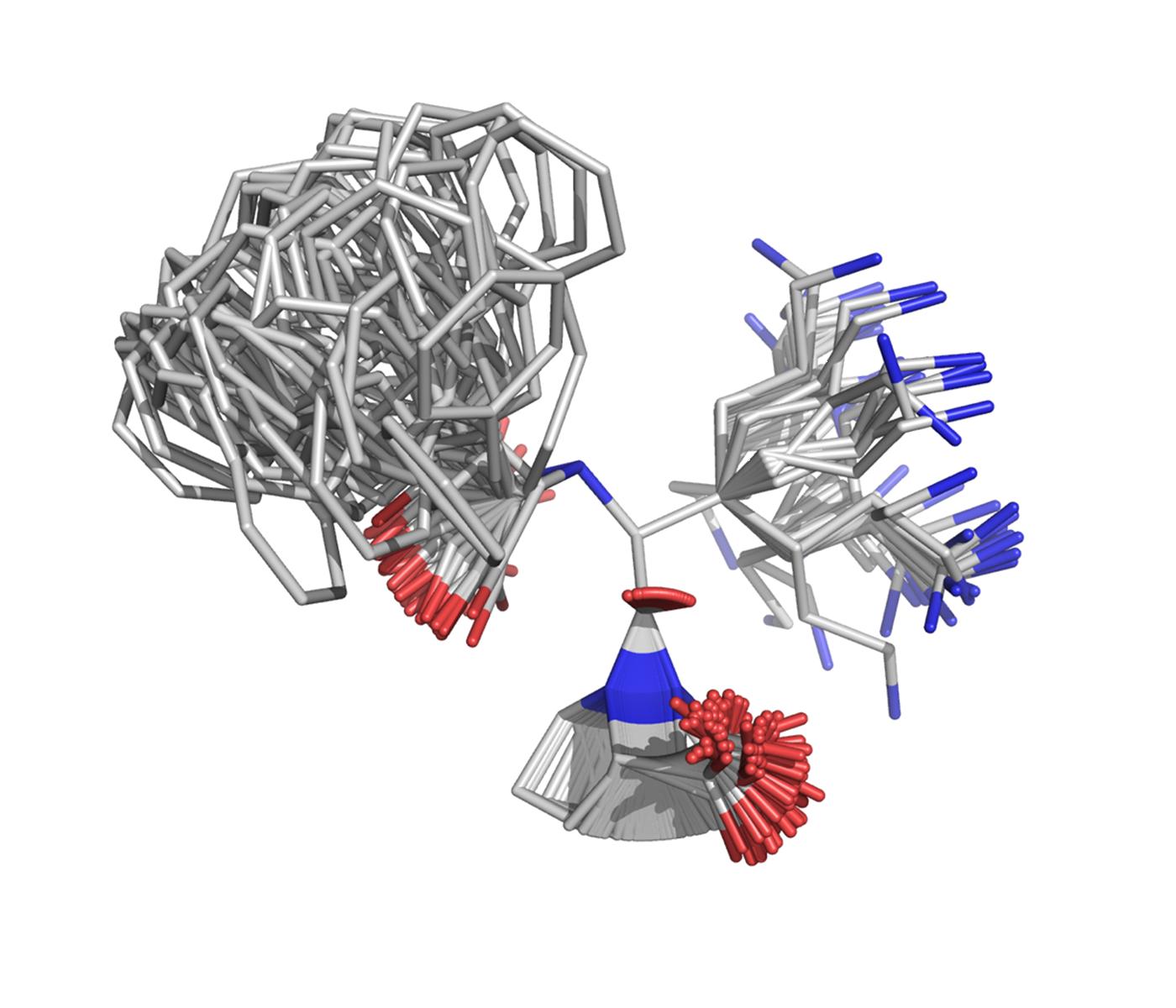 4D structural drug design animation slide 3